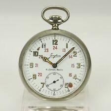 JUNGHANS Fliegeruhr A.Lünser Militär Taschenuhr Uhr Uhren no spindel armbanduhr
