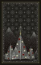 BEAUVILLE French Kitchen Dish Towel Ornament Black Forest Stars CHRISTMAS TREE