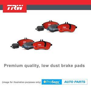 Front & Rear Heavy Duty Premium Brake Pads For Mitsubishi Pajero NM NP 4WD 00-06