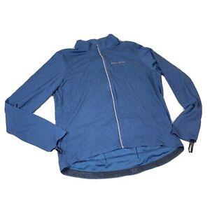 Pearl Izumi Men's PRO Thermal Long Sleeve Cycling Jersey Navy Blue Size XXL