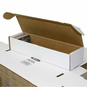 (3x) BCW 800 CT COUNT Corrugated Cardboard Storage Box-Sport Trading Card Boxes