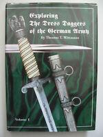 39/45 Livre très rare sur les dagues de l'armée Allemandes 3e reich Vol 1