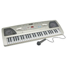 Zennox Electric Keyboard Digital Music Piano 54 Keys Instrument Microphone Gift
