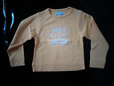 tee-shirt jaune 6 ans manches longues style sweat ORCHESTRA comme NEUF