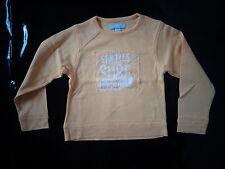 tee-shirt jaune 6 ans - style sweat ORCHESTRA - NEUF juste lavé, jamais porté
