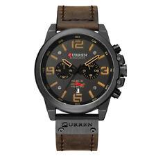 CURREN 8314 Men Watch Quartz Brand Watch Wristwatch Calendar Hour Minute O5P8