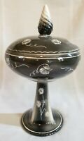 Vintage Ceramic Candy Dish with Lid/Trinket Dish