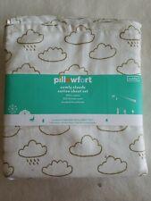 Comfy Clouds 100% Cotton Sheet Set Toddler Pillowfort BRAND NEW