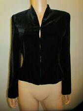 Ann Taylor Velvet Blazer Suit Jacket Black 4