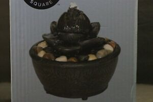 Zen Little Lotus Rock Small Fountain By Wayland Square Office Indoor Home Decor