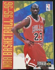 Upper Deck NBA Basketball 95/96 1995 Sticker Album Book - Empty Unused - Jordan