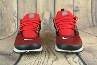 Nike Air Presto Essential University Red Black Mens Sneakers 848187-603 SZ