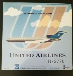 1/200 United Airlines Boeing 727-200 Diecast by Inflight 200 #IF722048