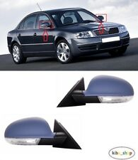 FOR SKODA SUPERB I 2006 - 2008 WING MIRROR ELECTRIC PRIMED 9PIN LEFT + RIGHT LHD