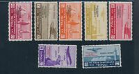 1934 Tripolitania, Mail Aerea - Air Mail N°34/40 'Circuit Dolls Oasis' Mlh
