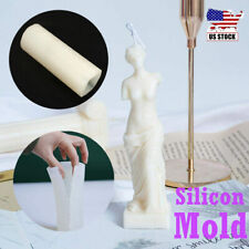 Godness Body Silicone Candle Mold Female Perfume Candle Making Wax Soap Mould