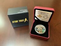 'Star Trek: The Trouble with Tribbles' 2016 Canada Colorized $20  Silver Coin