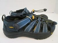 KEEN Size 12 Sport Water Sandals Blue and Yellow Kids Boys Girls