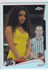 2014 TOPPS CHROME SEXY JO JO ROOKIE REFRACTOR PARALLEL WRESTLING CARD #26