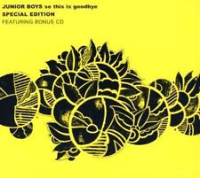 Junior Boys - So This Is Goodbye (Special Edition 2CD) NEW SEALED Thailand issue