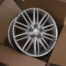 Set of (4) 16x7 5x108 et50 Ford Focus Style Alloy Wheel | Focus | Silver