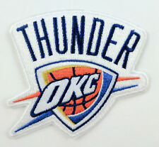 """Oklahoma City Thunder Iron On Patch 3 1/2"""" x 3"""" Free Shipping by Envelope Mail"""