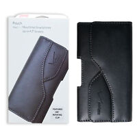 Verizon New Pouch Authentic Leather Protection Case Fit Most Small Smartphone