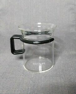1 Bodum Bistro Glass 6oz Coffee Mugs Espresso Cups Teacup Star Trek Picard Black