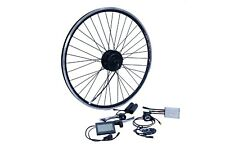 "E-bike transformación frase 26"" rueda delantera FWD 36v 250w Disc + V impermeable ip65 1-cable"