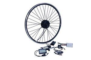 "E-Bike Umbausatz 28"" Vorderrad FWD 36V 350W Disc Wasserfest IP65 1-Kabel"
