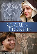 SEALED - Clare And Francis DVD NEW Ettore Bassi, Mary Petruolo Ships Today !