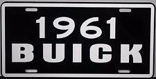 1961 BUICK METAL LICENSE PLATE RIVIERA ESTATE WAGON ELECTRA LESABRE  INVICTA