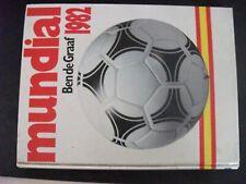 **au Livre Football coupe du monde 1982 Ben de Graaf  l'Argentine - Italie