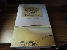 The Last Song by Nicholas Sparks 2009 Large Print Book Save w/Combined Shipping!