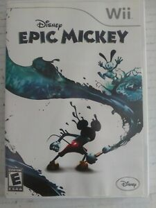 Nintendo Wii Disney Epic Mickey