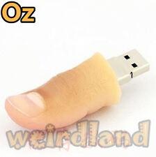 Finger USB Stick, 32G Quality 3D USB Flash Drives WeirdLand