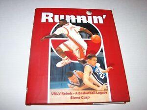Runnin' UNLV Rebels A Basketball Legacy Hardback Book by Steve Carp (2005) NEW