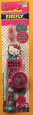 Hello Kitty Child's Toothbrush Travel Kit Free Shipping New Blue