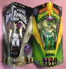 Mighty Morphin Power Rangers GREEN & WHITE RANGER Tommy Oliver (BRAND NEW) *HOT*