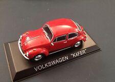 VOLKSWAGEN  BEETLE MODEL DIECAST IXO /IST LEGENDARY CARS 1/43 BA37