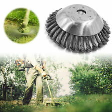 7.9 inch Weed Brush Steel Wire Grout For Brushcutters Replacement Weed Eater