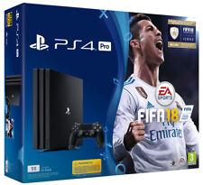 Playstation 4 PS4 Pro 1TB Console + FIFA 18 + PS Plus 14 Days Bundle IT IMPORT