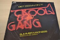 "KOOL AND THE GANG   GET DOWN ON IT   7"" SINGLE   DE-LITE RECORDS  DE 5"