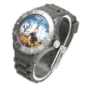 Rat Kangaroo Animal Pattern Silicone Strap Wrist Watch Men Women Fashion Jewelry