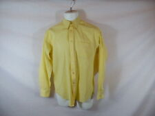 Men's Dress Shirt Yellow YVES SAINT LAURENT Long Sleeve 15