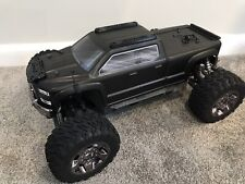 Arrma Big Rock Parts - Body Roof Protector Skid Plates + Extra Bed Plate Black