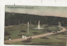 The Gardens From The Square Bournemouth [JWS 89] 1909 Postcard 800a