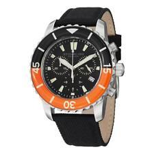 Stuhrling Original 3267 01 Felucca Aquadiver Chronograph Nylon Strap Mens Watch