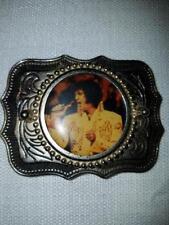 Elvis Presley Silver Belt Buckle