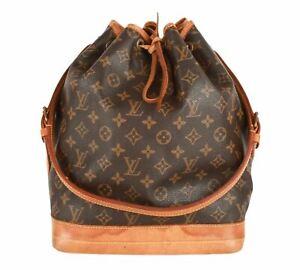 Authentic Louis Vuitton Monogram Noe shoulder bag M42224